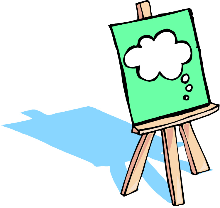 Art Easel Clipart | Clipart Panda - Free Clipart Images