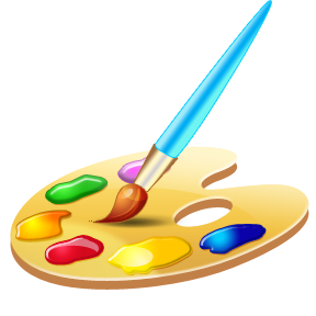 Image result for painting palette png