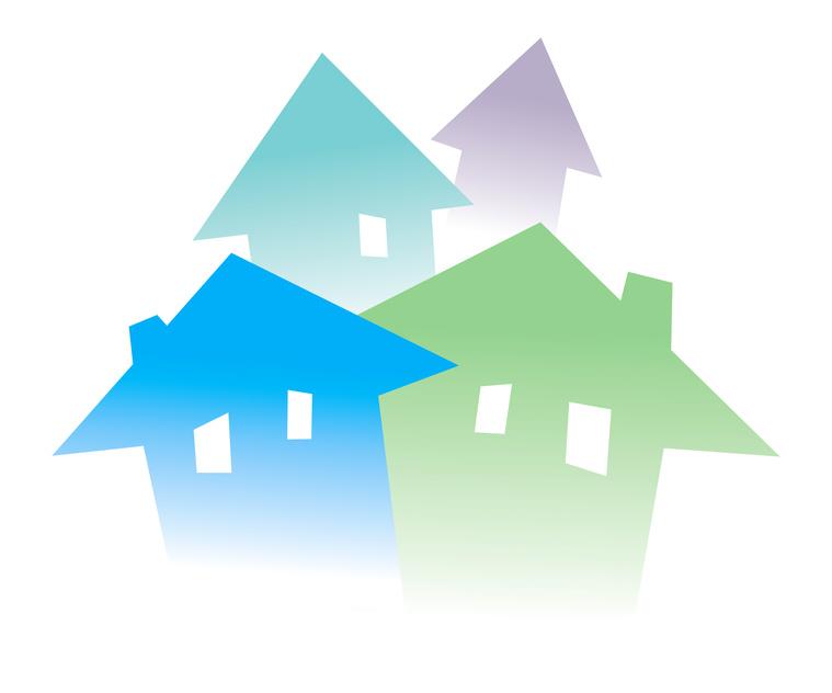 clip art blue house - photo #20