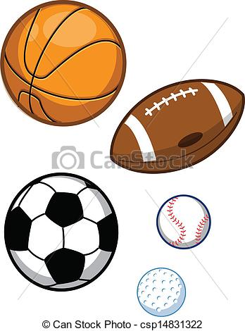 assortment20clipart - Sports Drawing Pictures