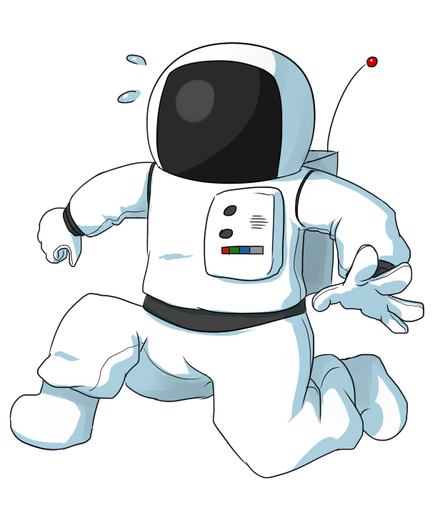 Astronaut Clipart Black And White | Clipart Panda - Free Clipart ...