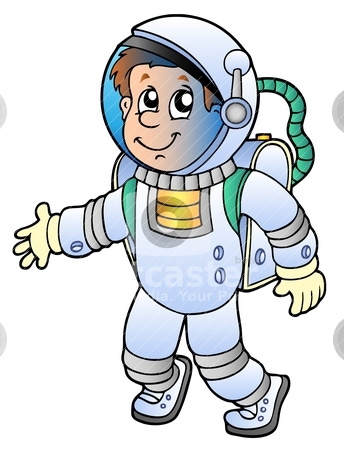 astronauts in space clipart - photo #1