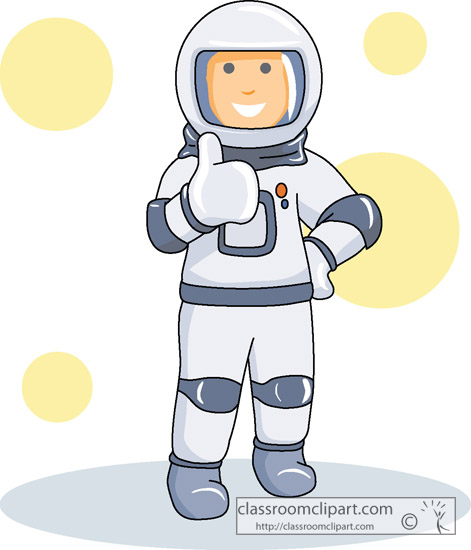 astronaut in space clipart - photo #12