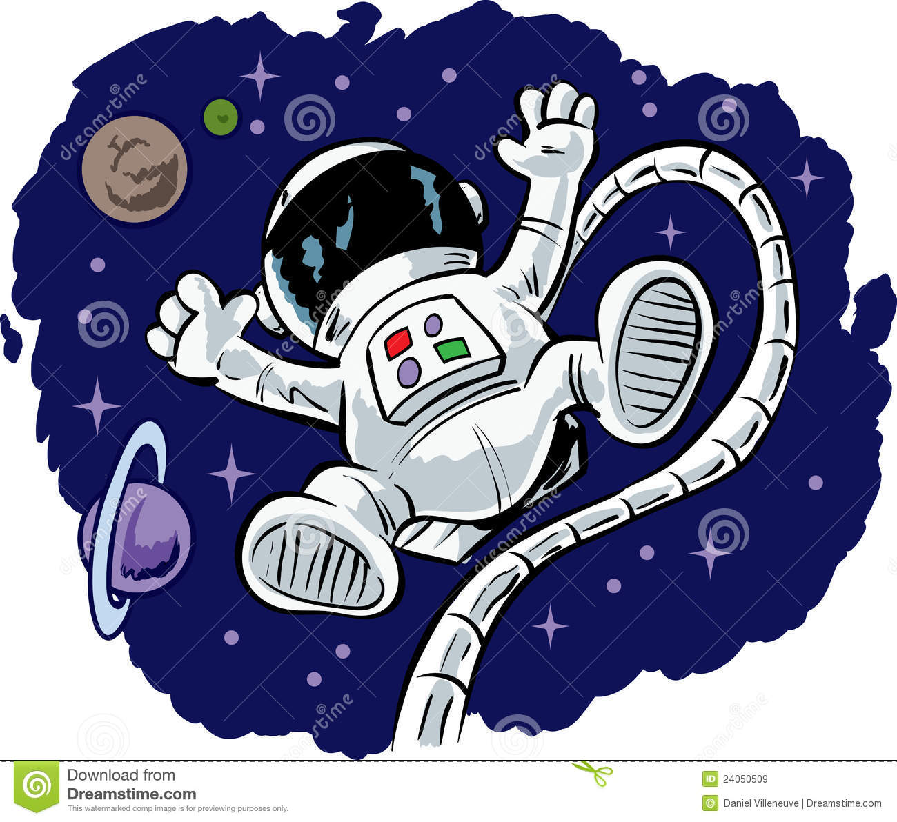 astronaut in space clipart - photo #26