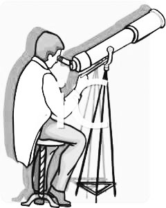 astronomy clipart black and white - photo #8