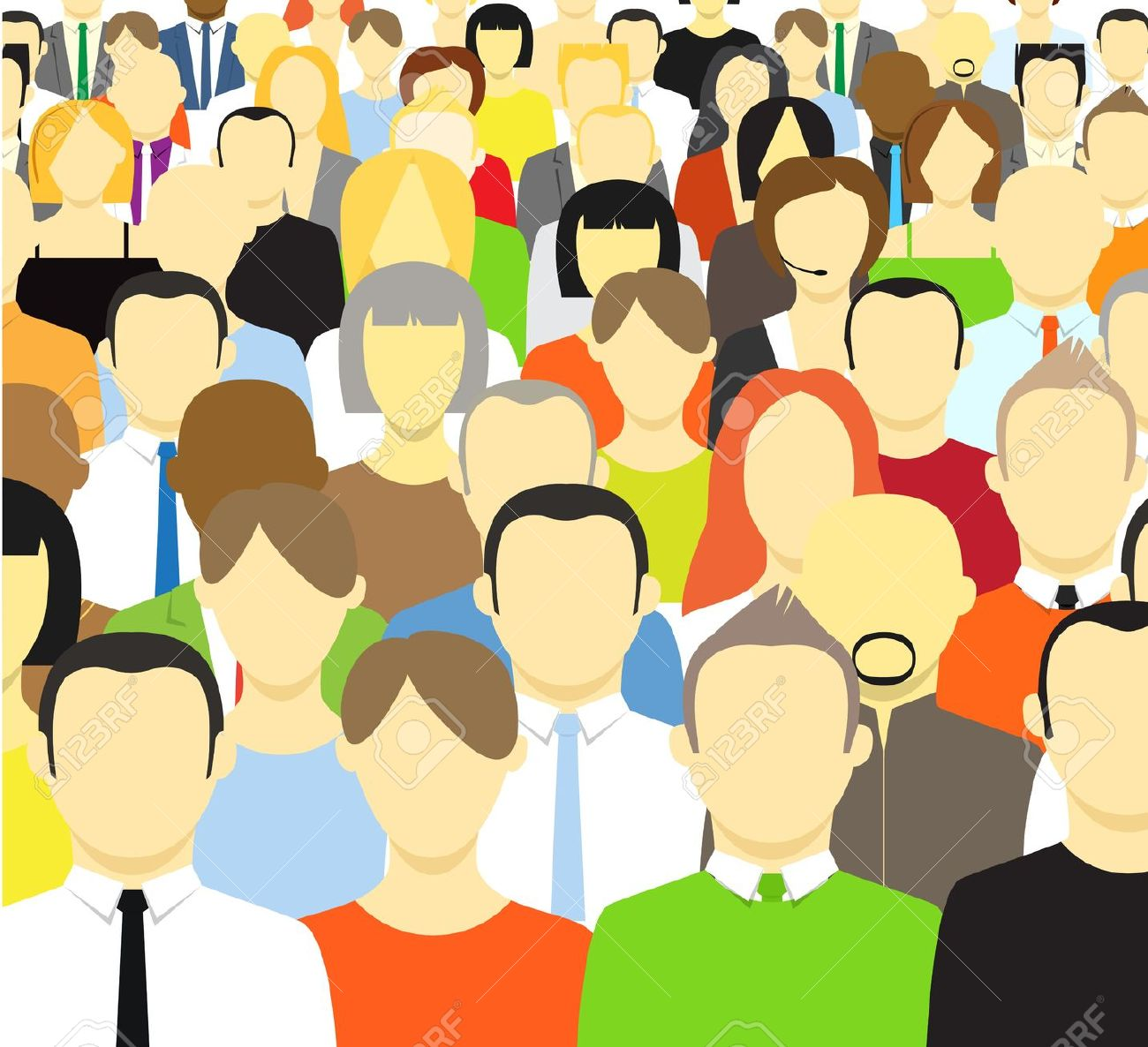 Crowd Clipart | Clipart Panda - Free Clipart Images