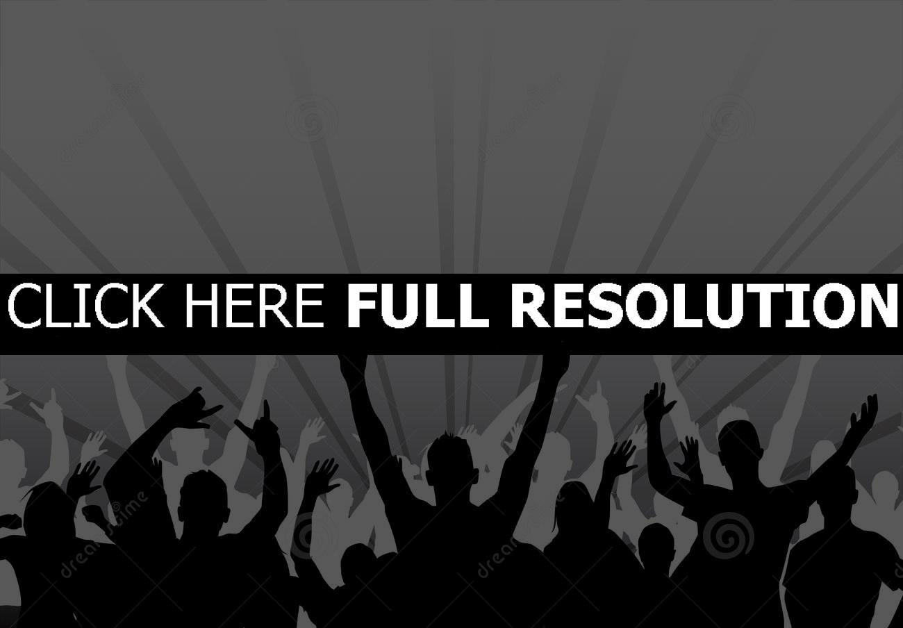 Concert clipart black and white, Concert black and white Transparent FREE  for download on WebStockReview 2020