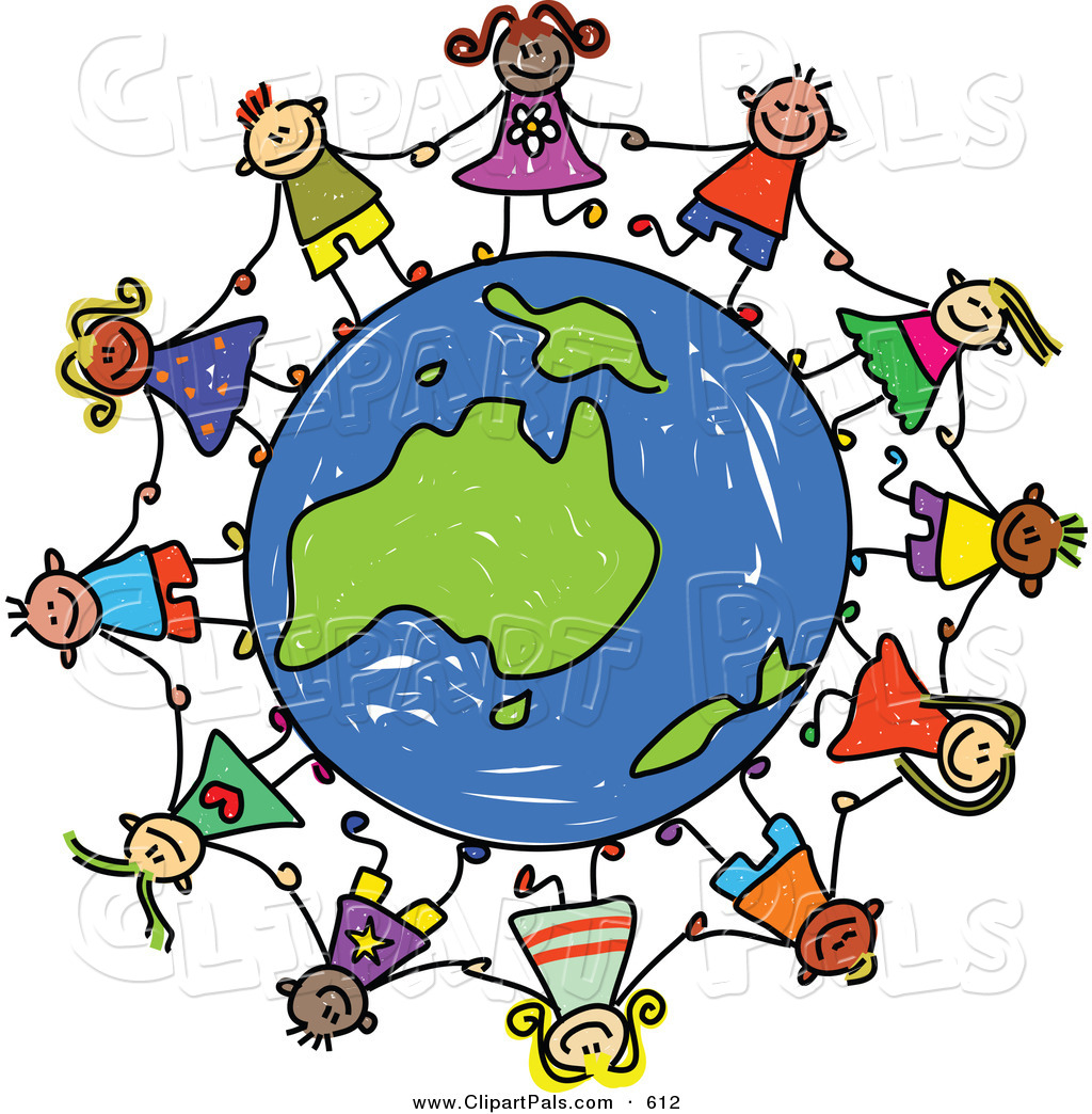 kids holding hands clipart clipart panda free clipart images rh clipartpanda com Christmas Decorations around the World Traditions around the World Clip Art