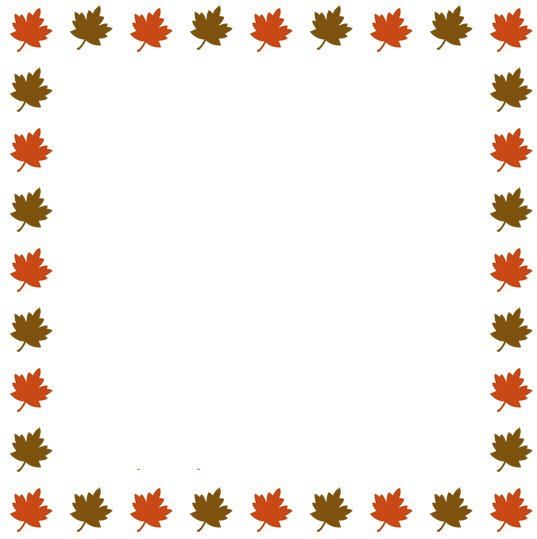 Thanksgiving Border Clipart | Clipart Panda - Free Clipart Images