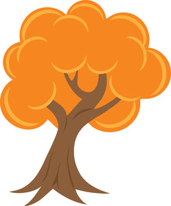 Gallery For > Orange Tree Clipart