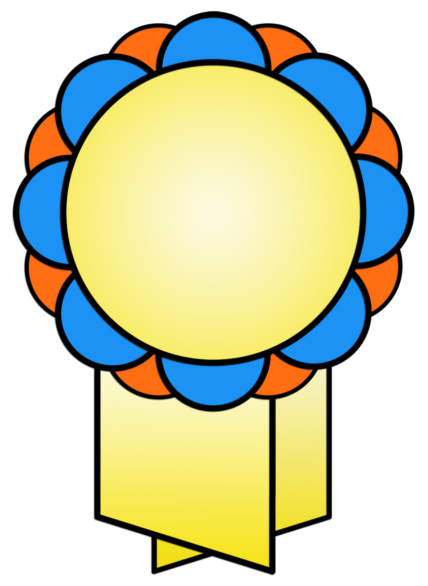 Displaying 18> Images For - Award Ribbon Clipart...