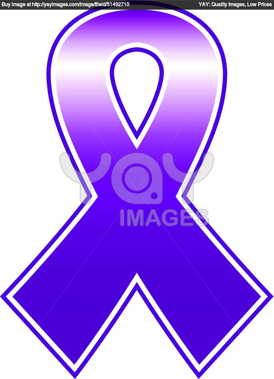 breast cancer purple ribbon clipart panda free clipart images