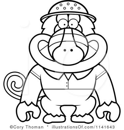 Rf Baboon Clipart Clipart Panda