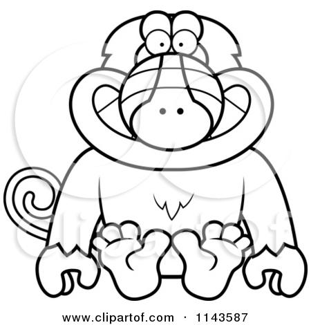 Baboon Clipart Clipart Panda