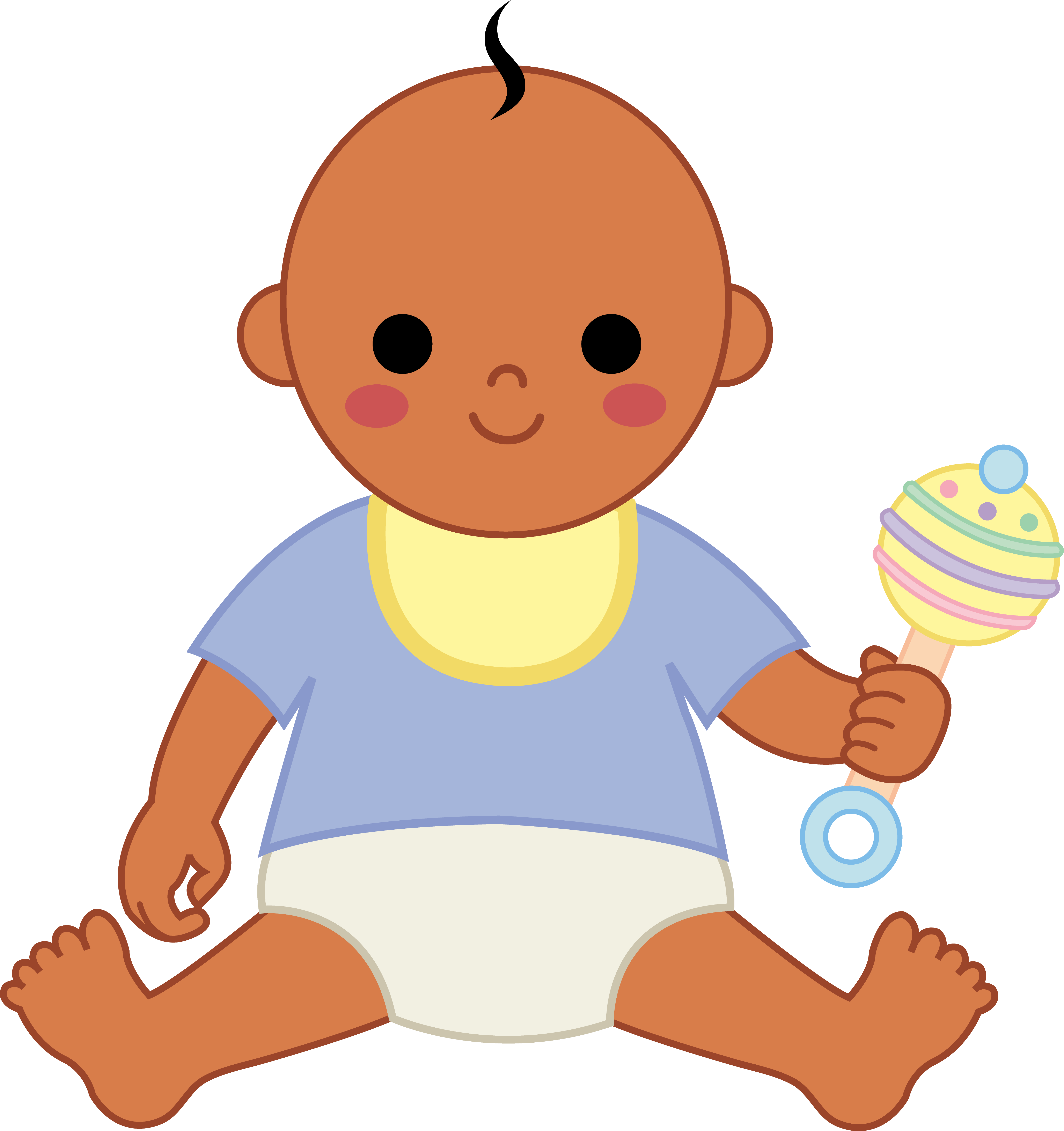 Clip Art Clipart Baby rattle clipart panda free images