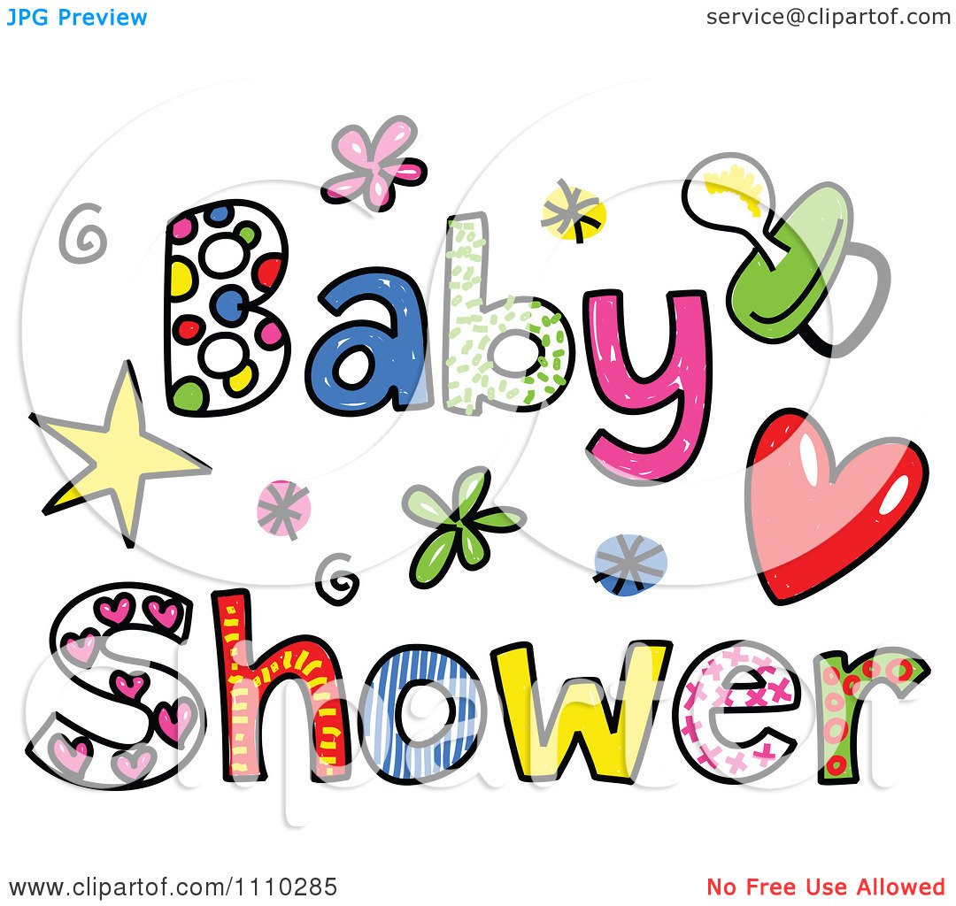 Baby Shower Clipart: Clipart Baby Shower