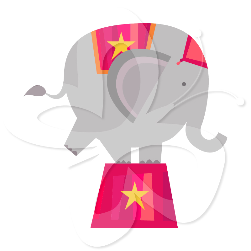Circus Elephant Clip Art | Clipart Panda - Free Clipart Images