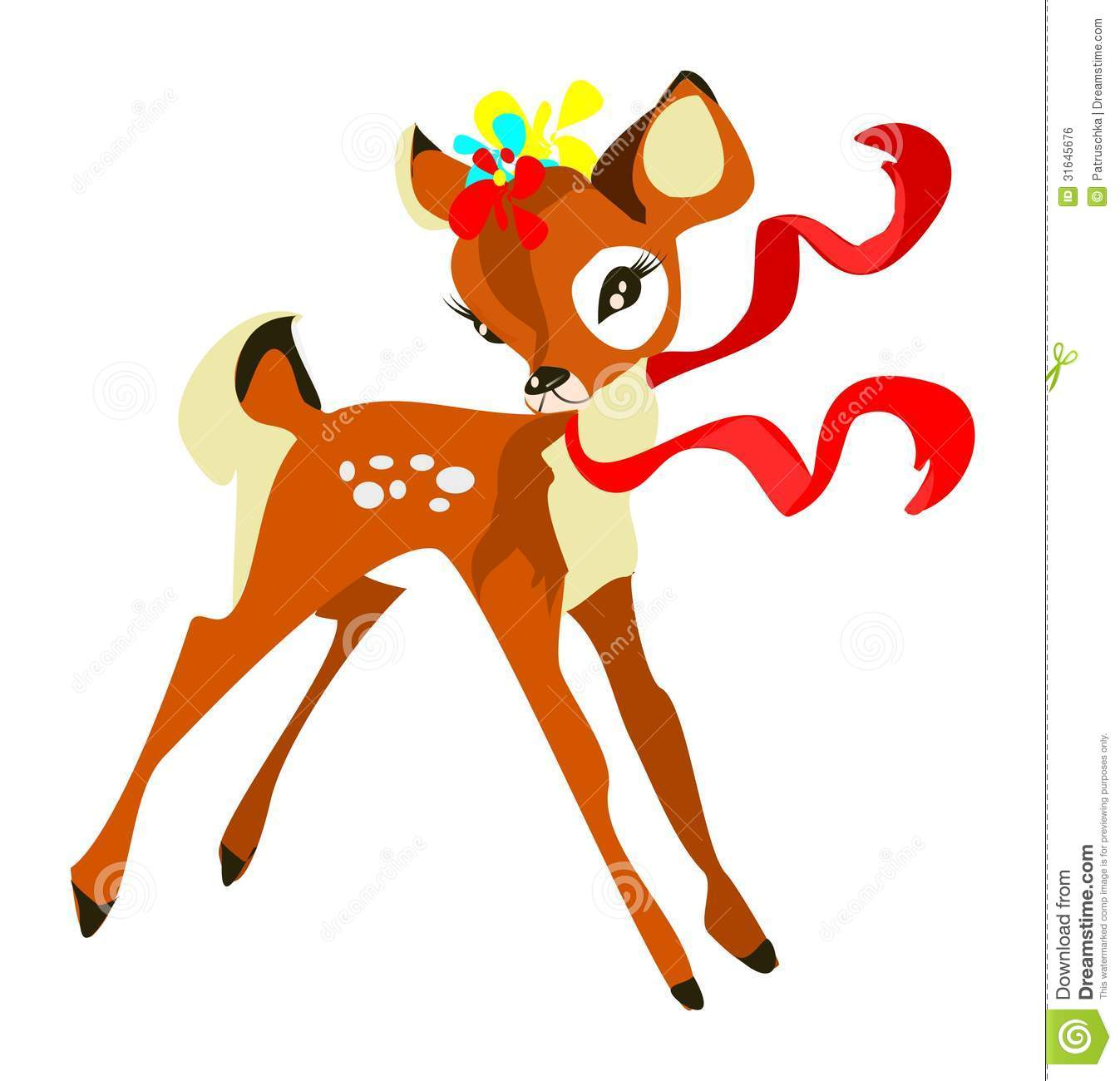 Free Coloring Pages Reindeer