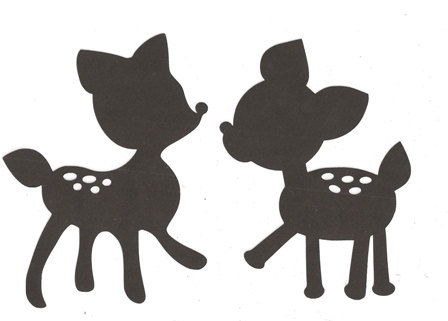 Baby Deer Silhouette | Clipart Panda - Free Clipart Images