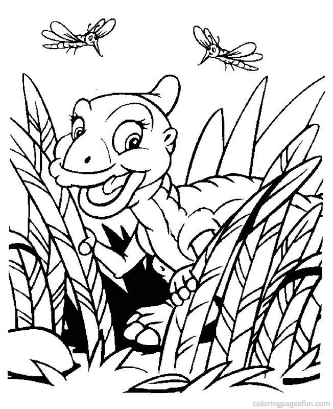 Baby Dinosaur Coloring Pages Dino 10