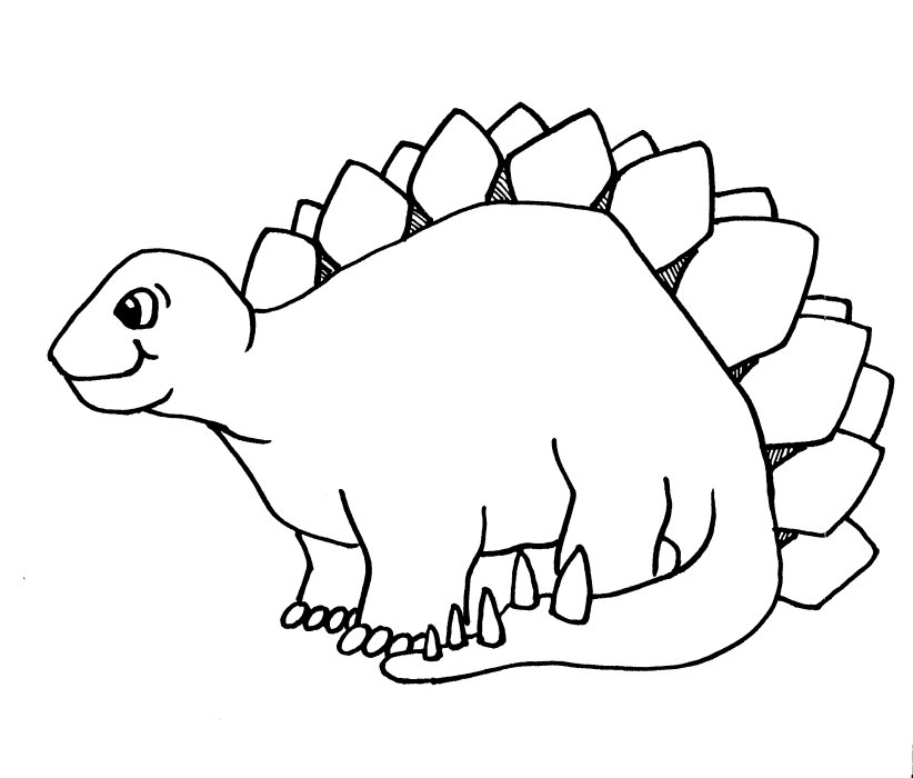 coloring pages dinosaurs triceratops baby - photo#21