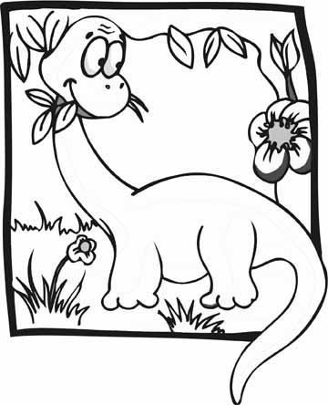 Apatosaurus Dinosaur coloring Clipart Panda Free Clipart Images