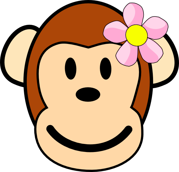 Baby Girl Monkey Clip Art | Clipart Panda Free Clipart Images