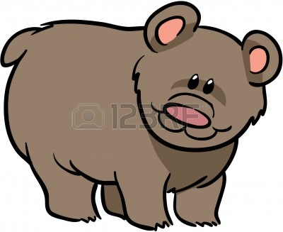 Cute grizzly bear clipart - photo#15