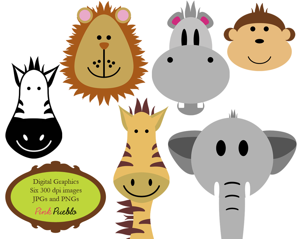 baby jungle animals clipart clipart panda free clipart images rh clipartpanda com baby jungle animals clipart free baby jungle animals clipart black and white