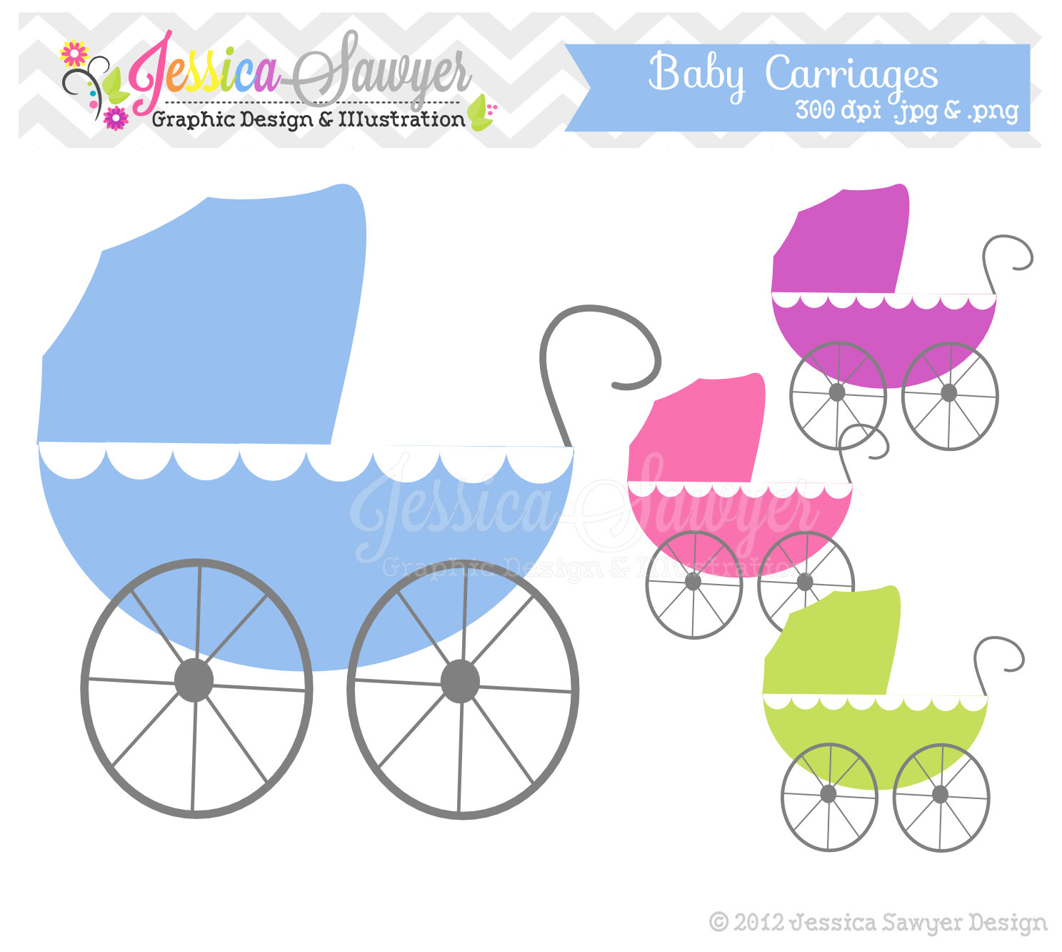Baby Jungle Animals Clipart