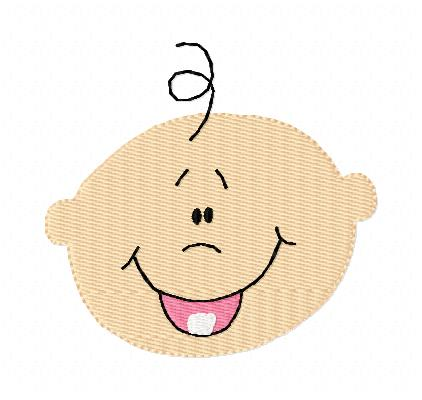 Baby Faces Clip Art Baby face | Clipart Panda - Free Clipart Images