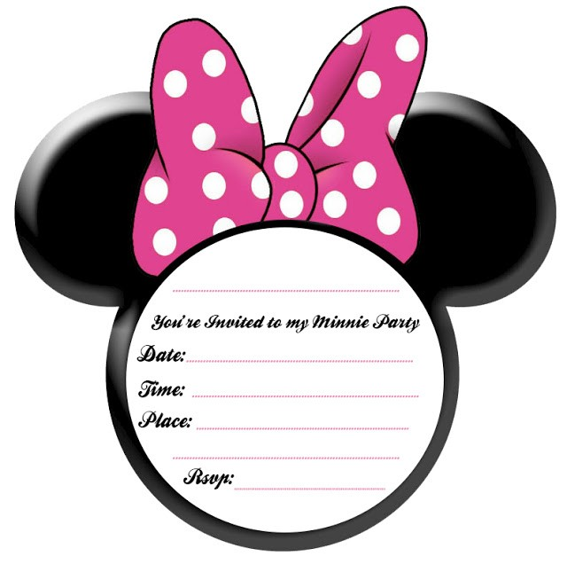 minnie mouse invitations baby shower free printable baby minnie mouse