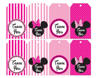 minnie mouse pink thank you clipart panda free clipart images