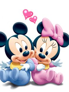 Baby Mickey And Minnie Mouse Clipart Panda Free Clipart Images