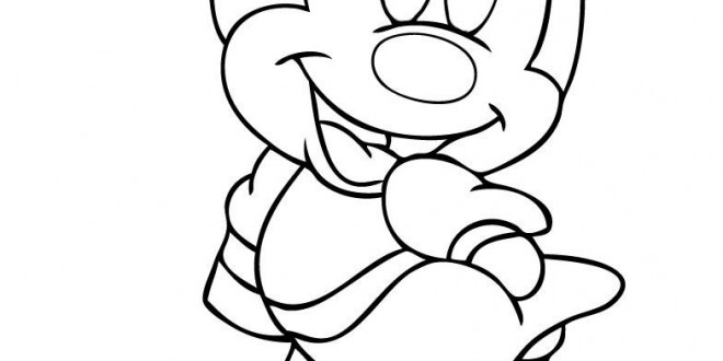 Minnie Mouse Coloring Pages | Clipart Panda - Free Clipart Images
