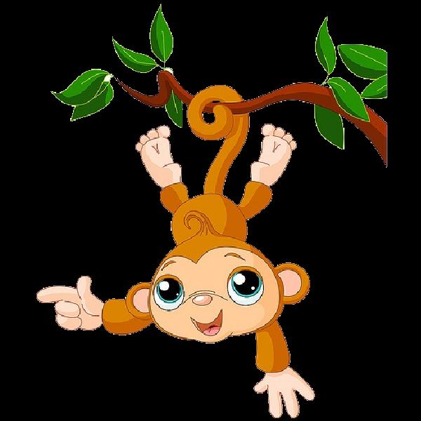 baby monkey clip art - photo #5