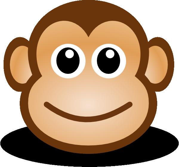 monkey face clip art clipart panda free clipart images rh clipartpanda com monkey face clip art free monkey face clip art black and white