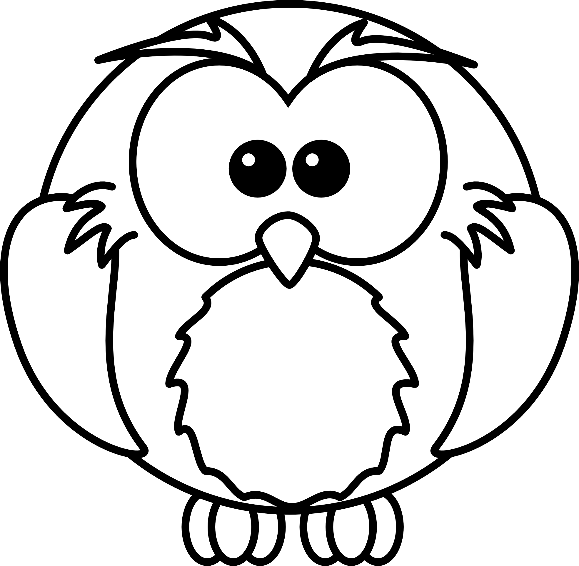 baby-owl-clipart-black-and-white-cartoon-clip-art-black-and-white-1    Baby Owl Clipart Black And White