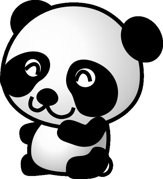 cute panda bear clipart clipart panda free clipart images rh clipartpanda com Cute Panda Flute Cute Cartoon Panda