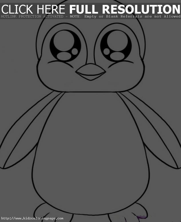 Cute Baby Penguin Coloring   Clipart Panda - Free Clipart Images