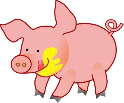 Iron Pigs Clipart