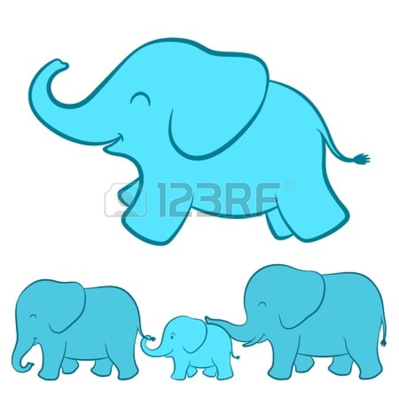 elephant baby shower clipart - photo #23