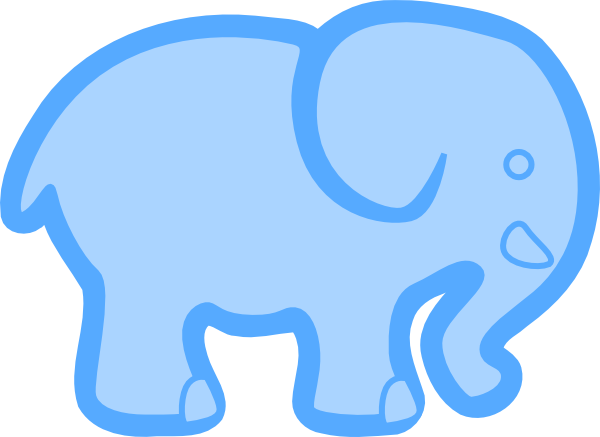 baby-shower-ele... Elephant Baby Shower Clipart