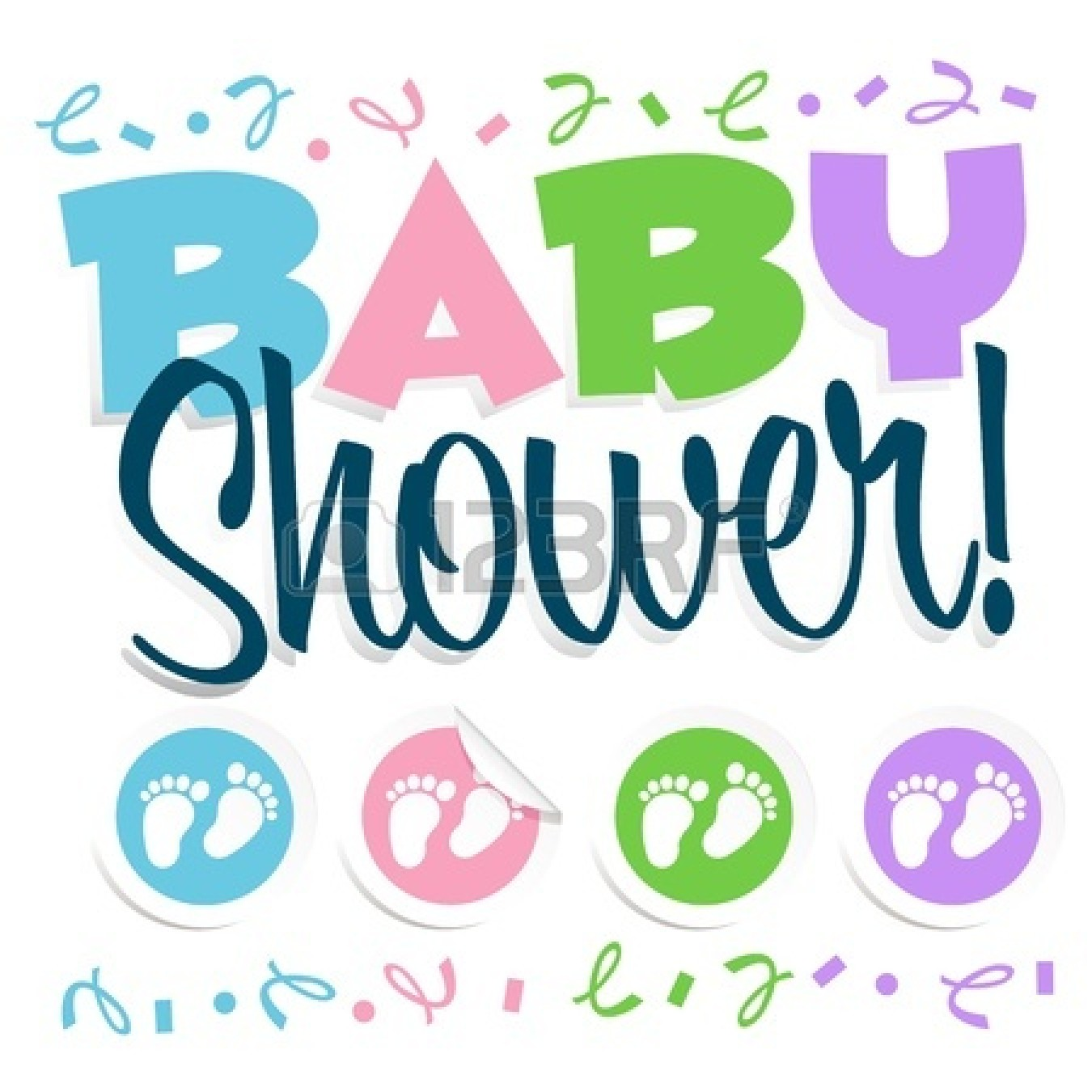 clipart for baby shower cards - photo #9
