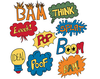 Super hero words clip art clipart panda free clipart images baby20superhero20clipart voltagebd Image collections