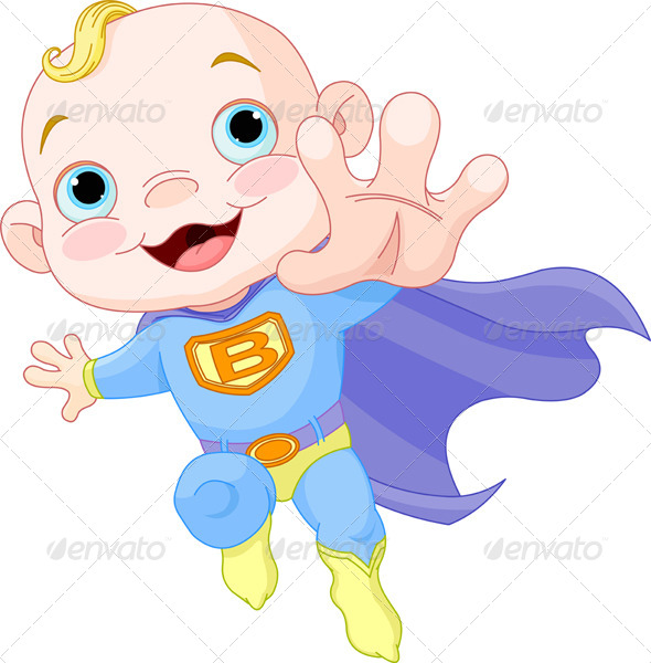 Baby Superheroes Clipart | www.imgkid.com - The Image Kid ...