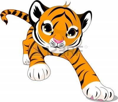cute baby tiger clipart clipart panda free clipart images rh clipartpanda com Cute Tiger Clip Art cute baby tiger clipart free