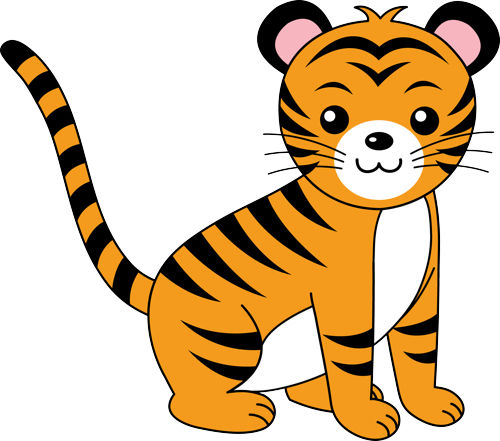 ... - Baby Tiger Clip Art Tiger Vectors Baby Tiger Clip Art Baby Tiger