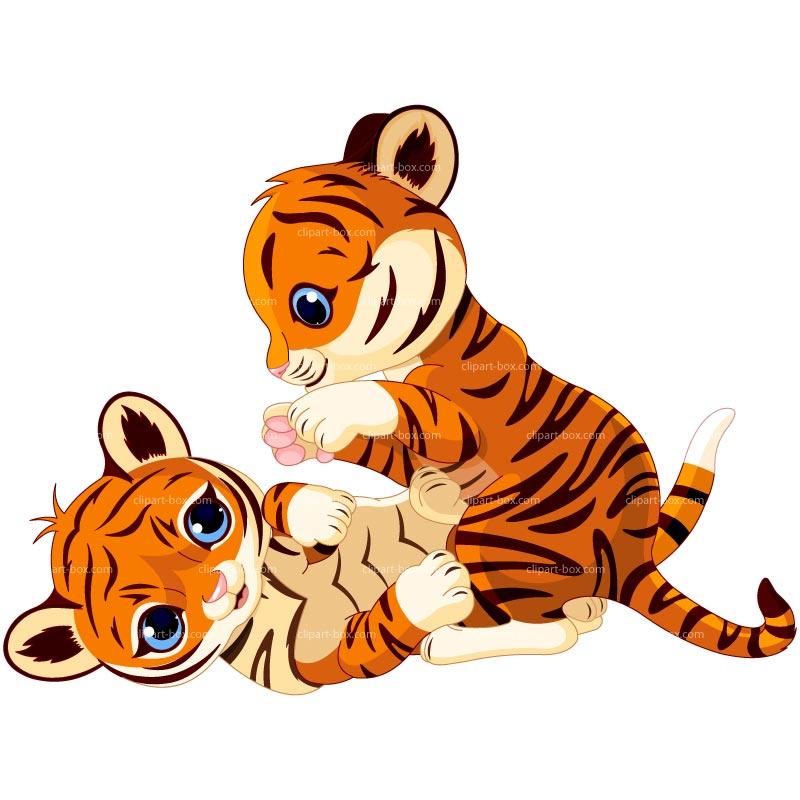 Cute Baby Tiger Clipar...