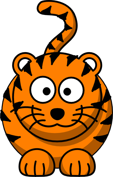 Baby Tiger Face Clip Art   Clipart Panda - Free Clipart Images